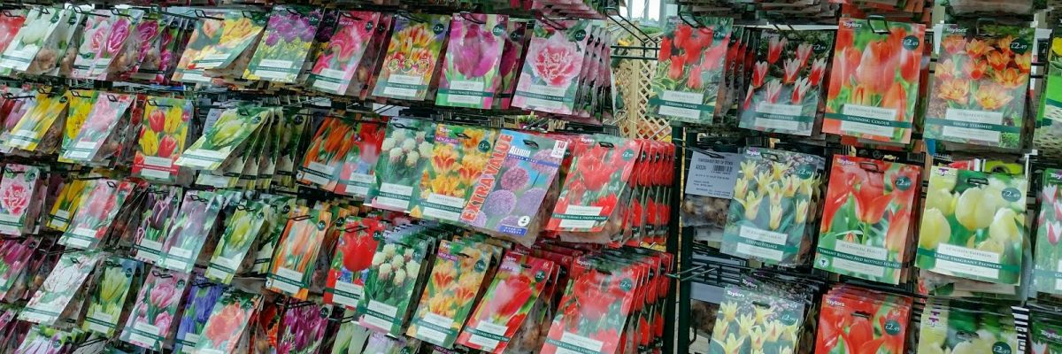 Blomsterløg pakker